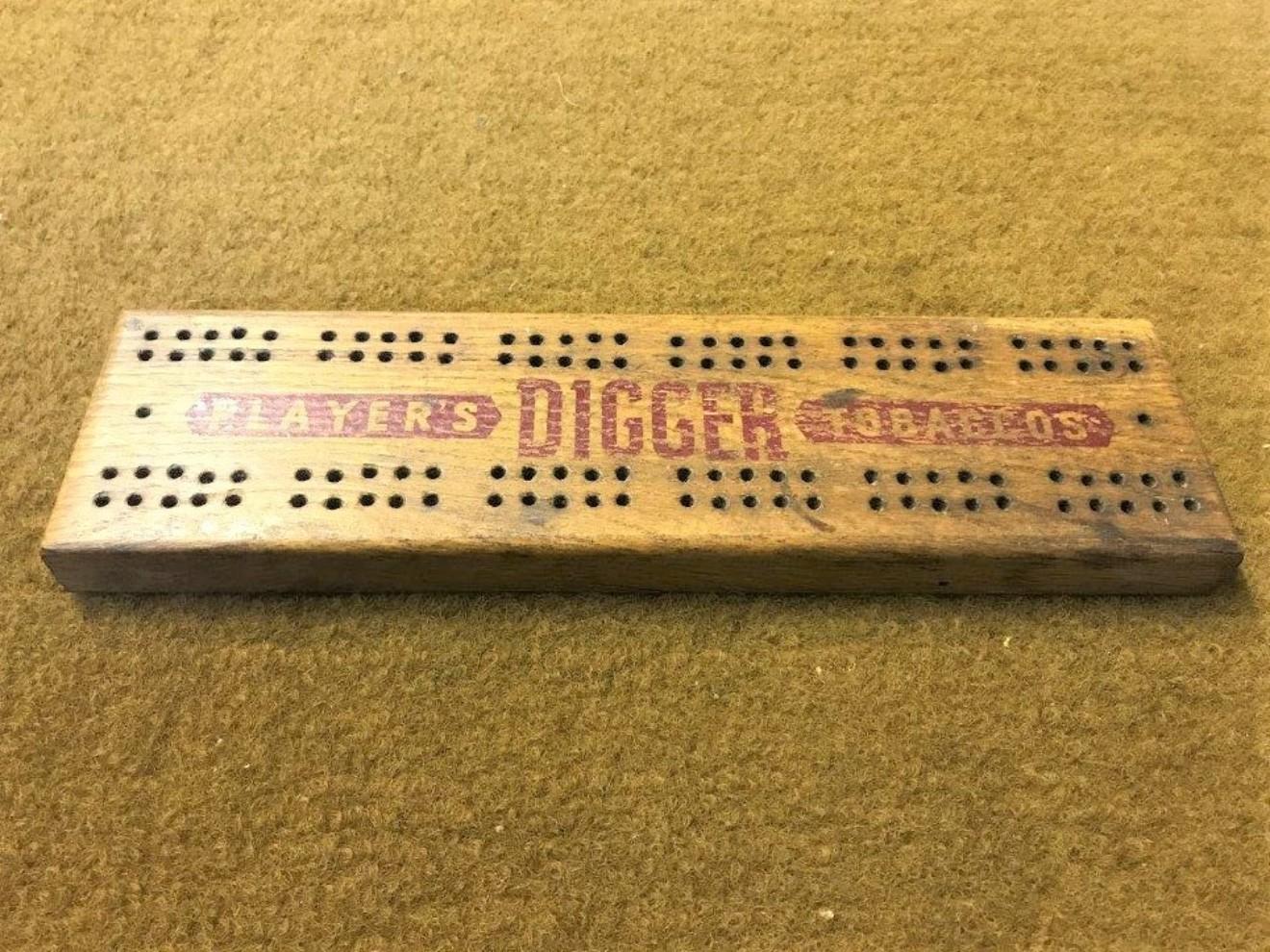 Cribbage Board Players Digger Tobaccos