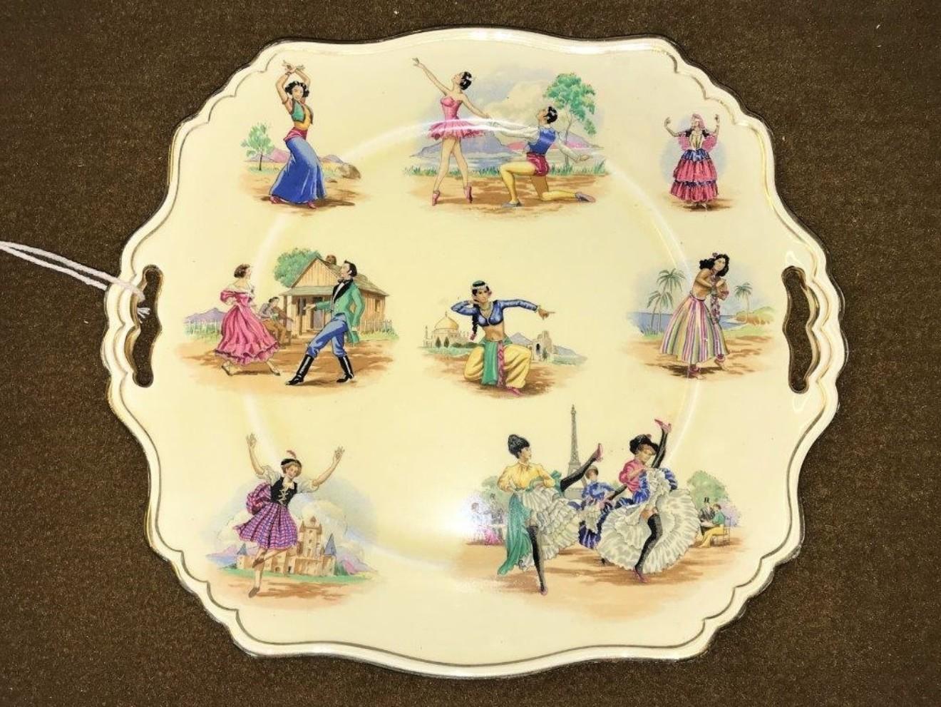 Cabinet Plate National Dances