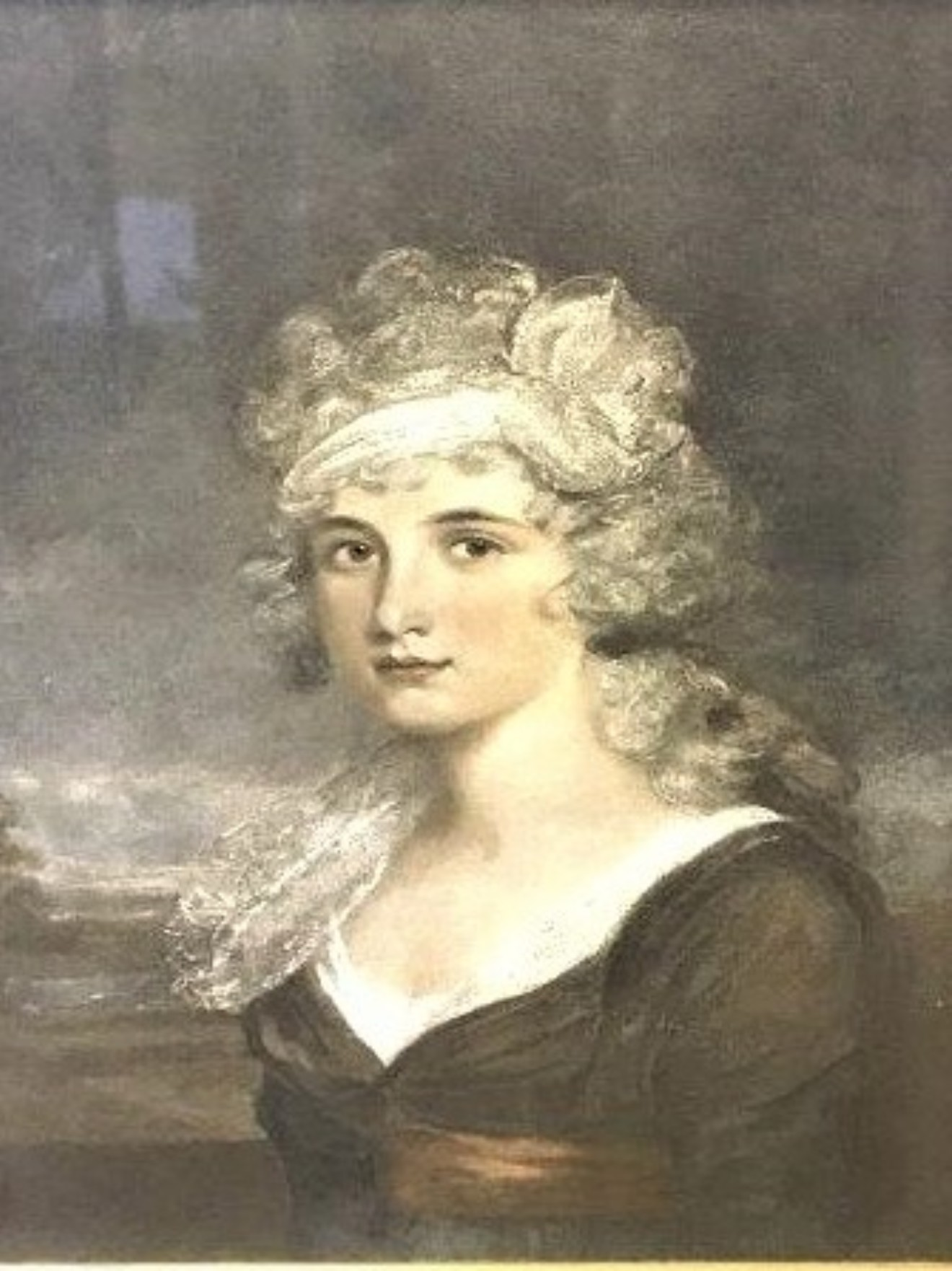 Victorian Print Portrait of a Lady