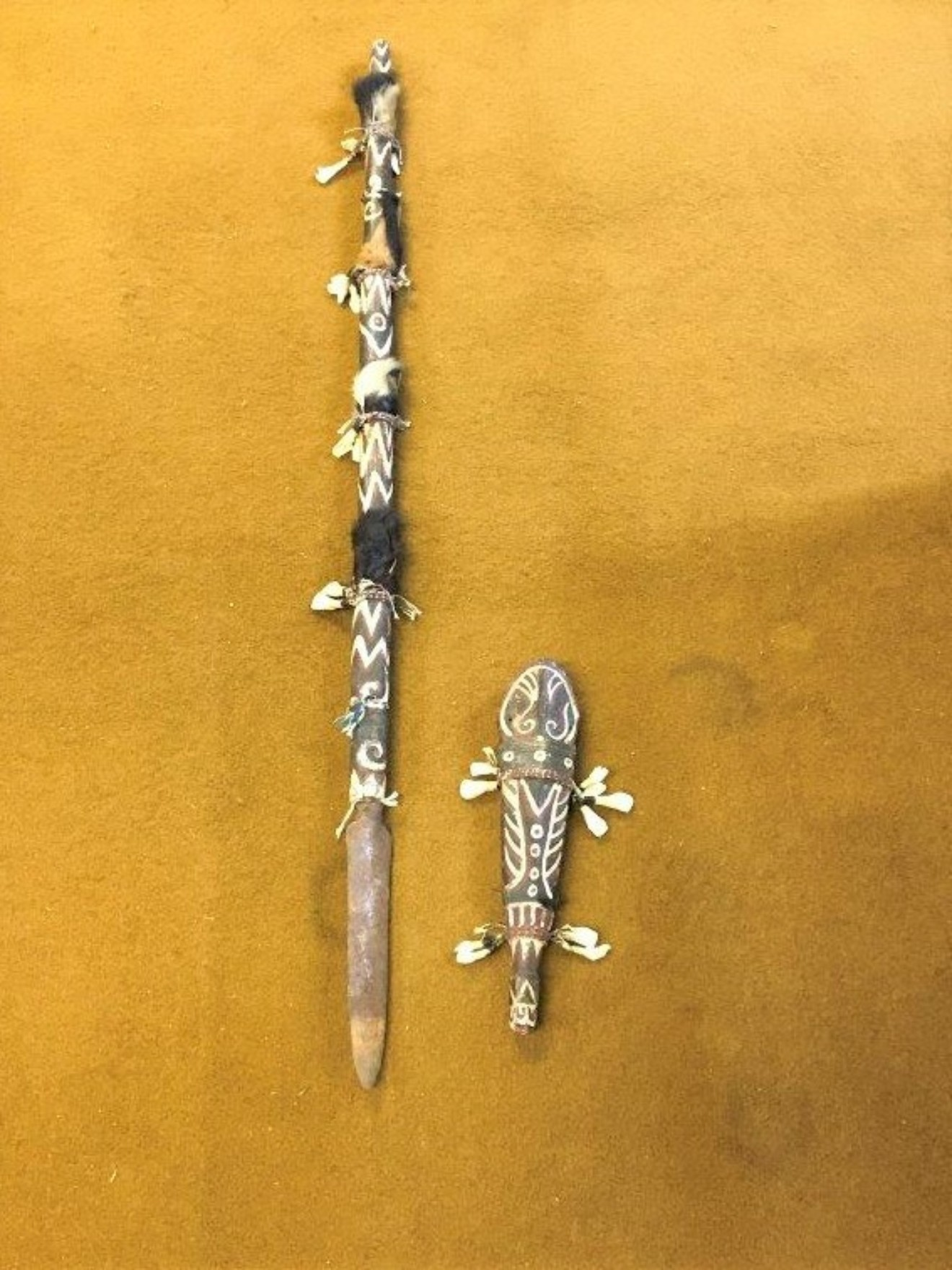 Indonesian Ceremonial Tribal Spear