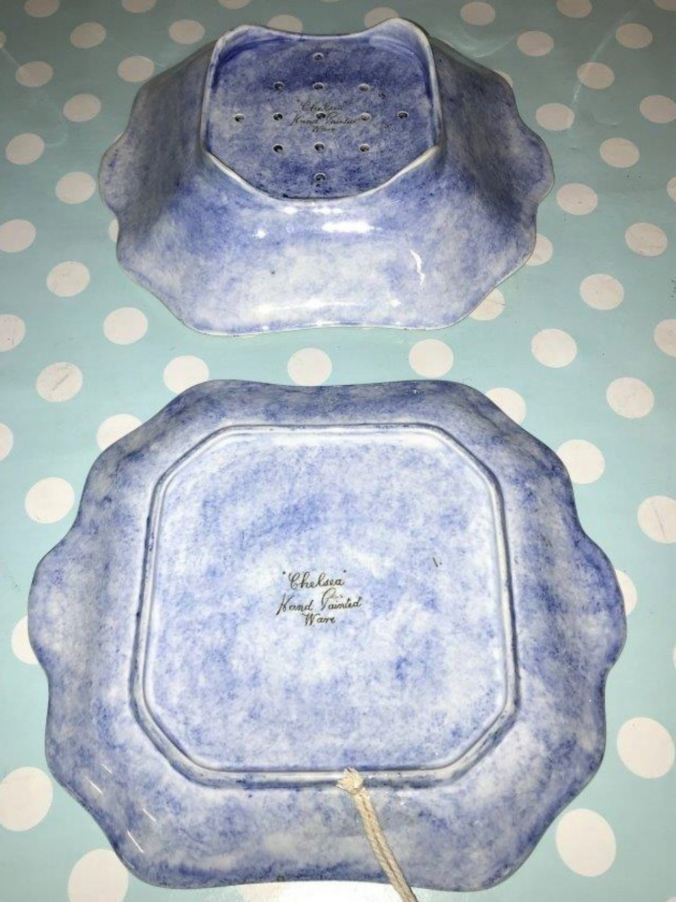 Cress Dish and Stand