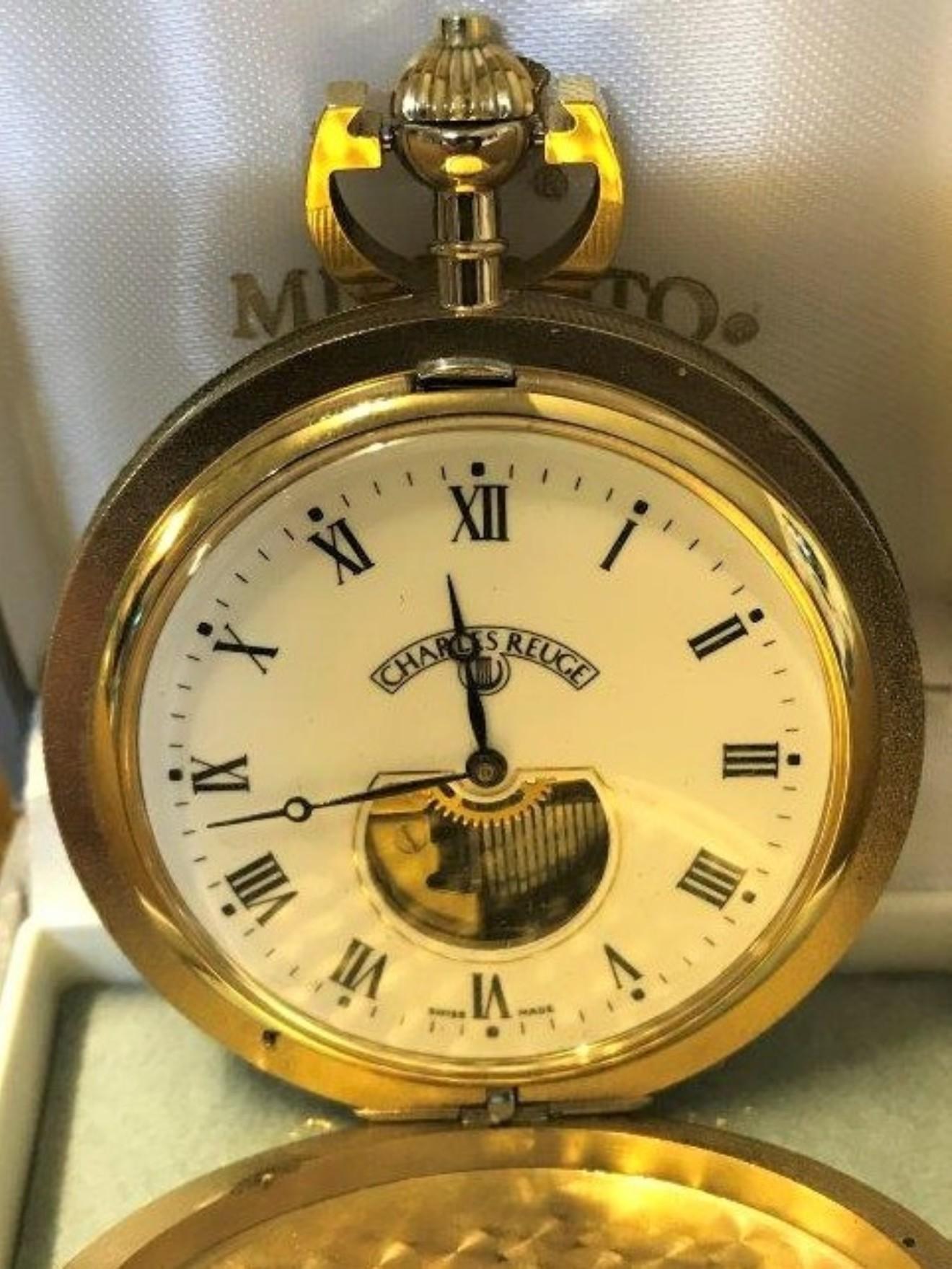 Charles Reuge Musical Pocket Watch