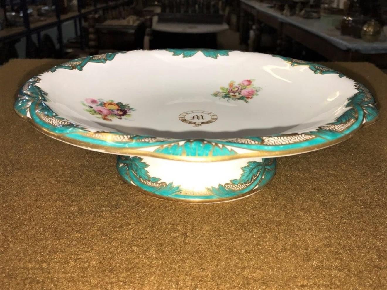 Davenport Comport Floral Decoration