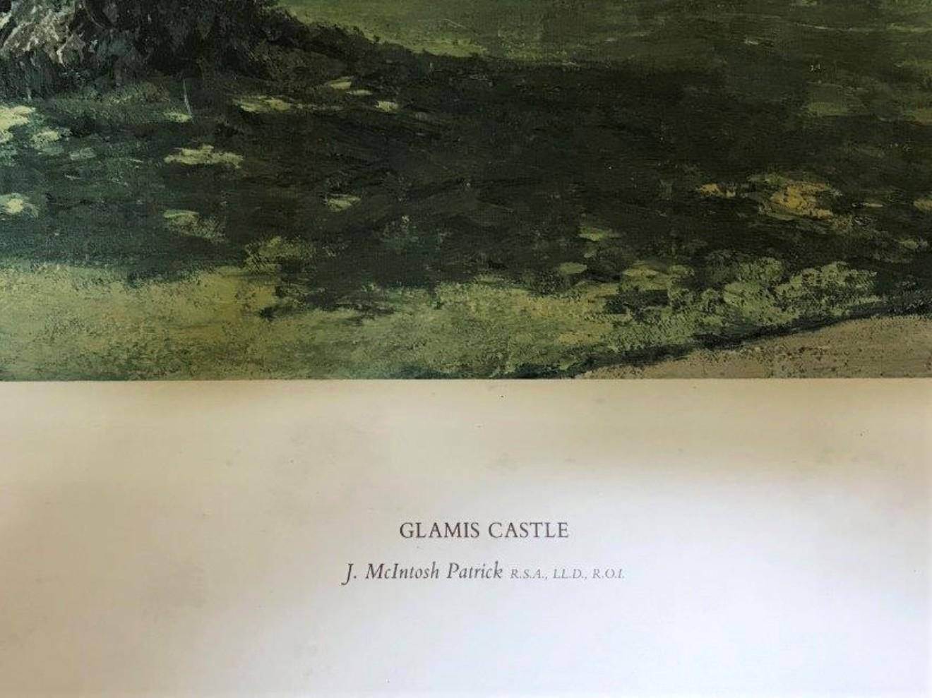 "James McIntosh Patrick Print ""Glamis Castle"""