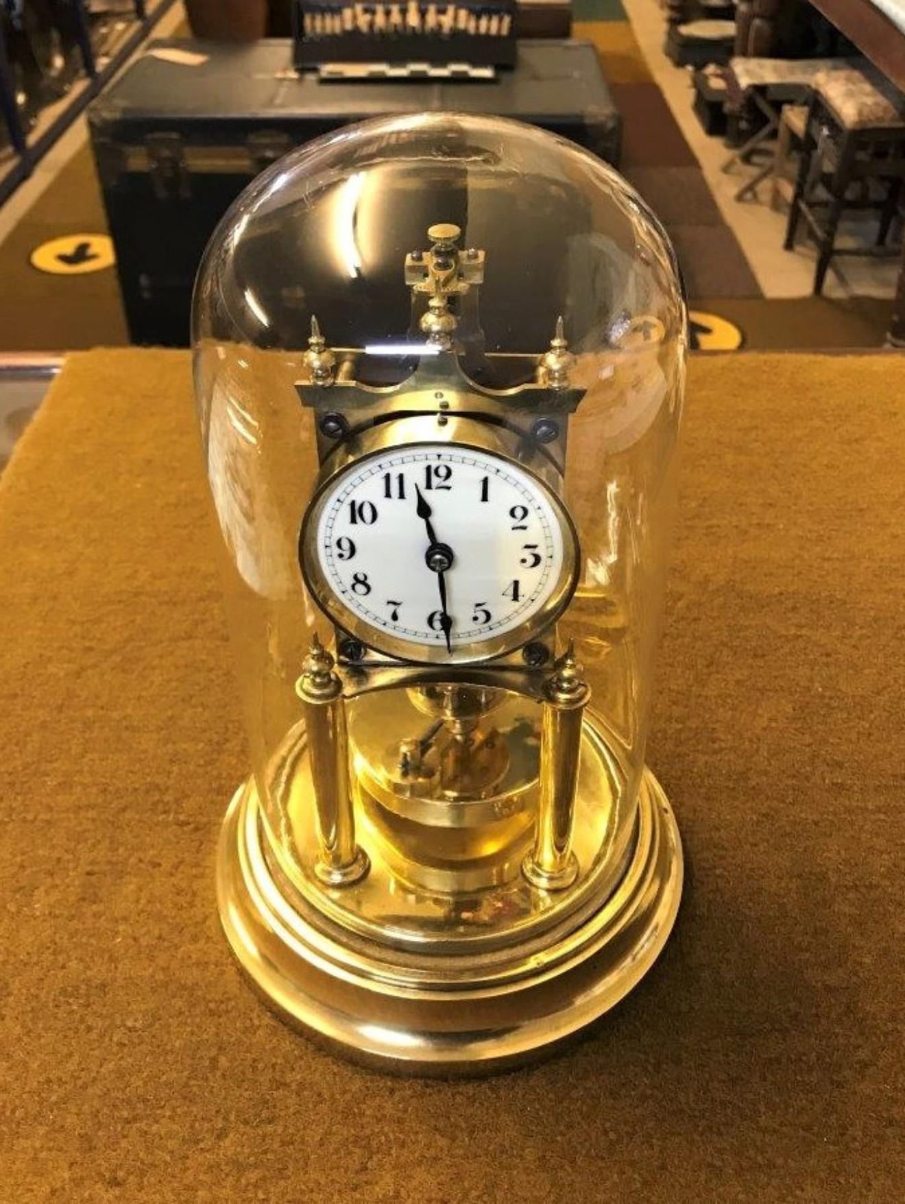 Gustav Becker 400 Day Anniversary Clock