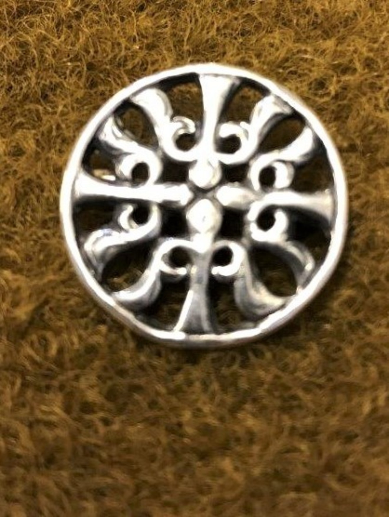 Silver Brooch Celtic Design
