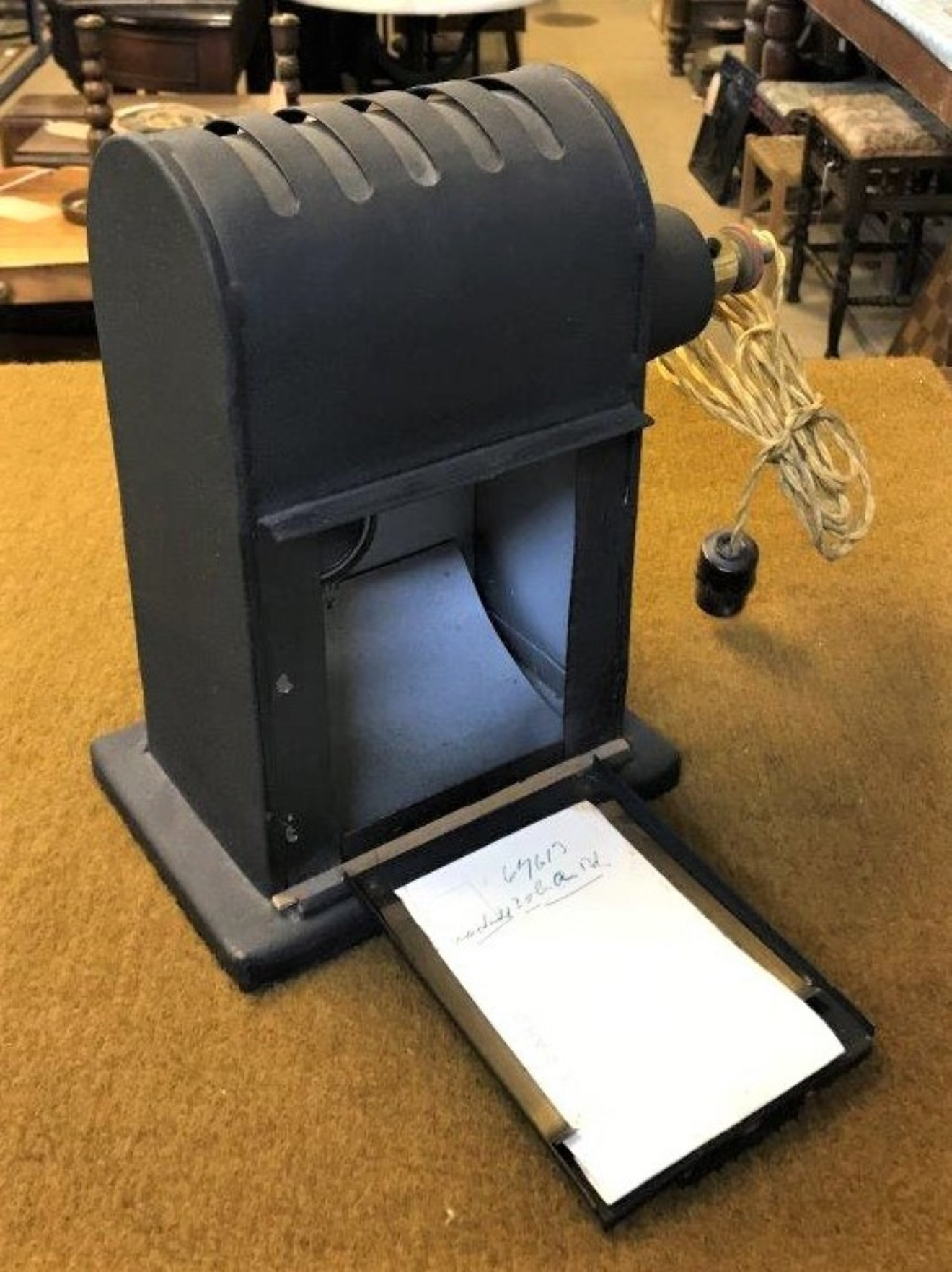 Vintage Magic Lantern Projector