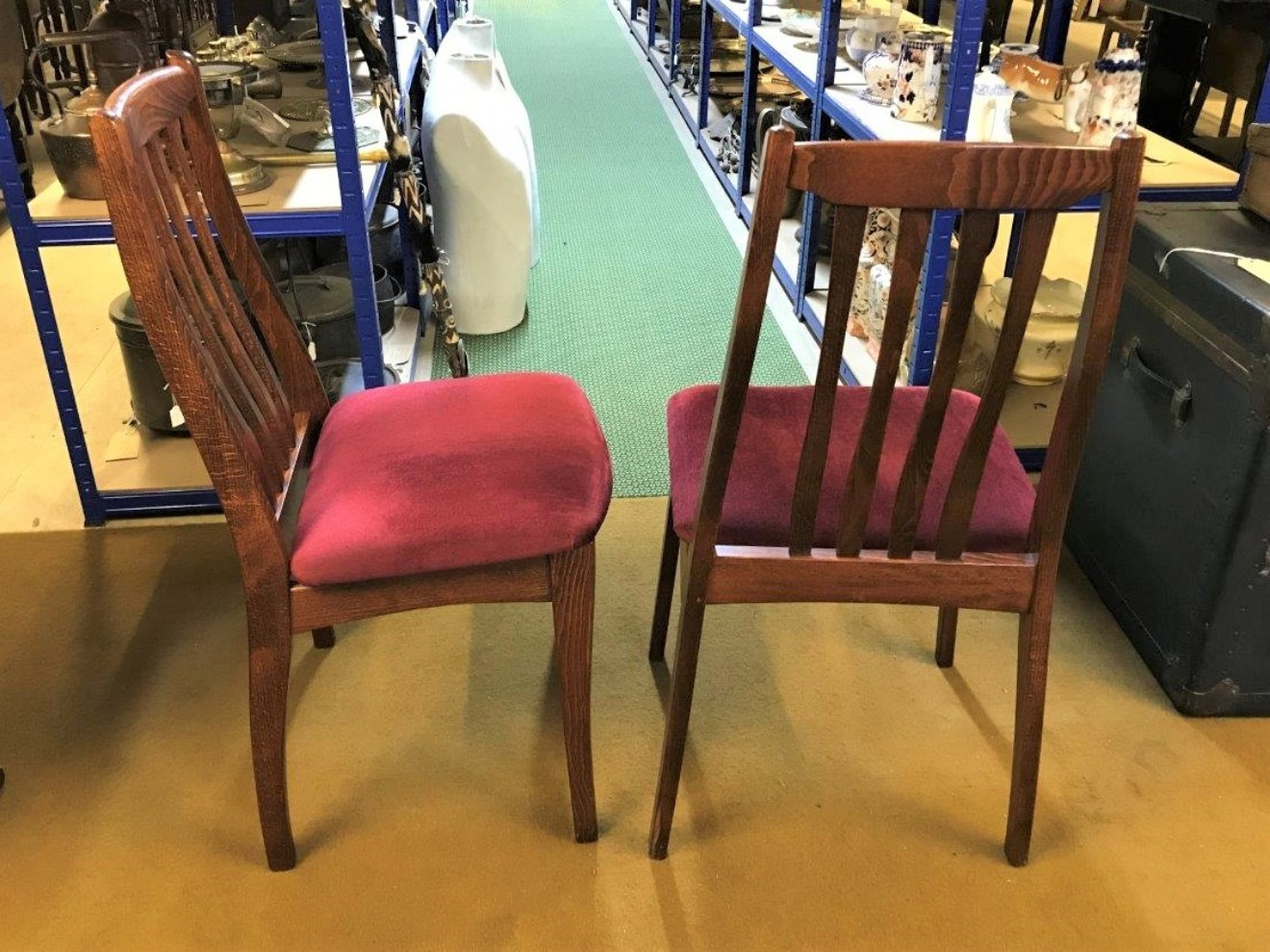 Compressed Wood Dining Room Chairs