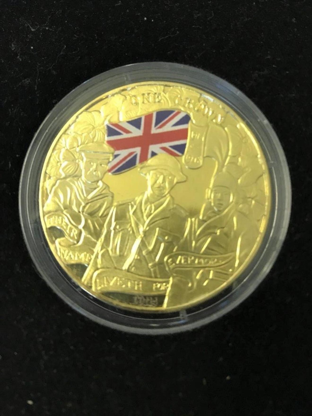 WW1 Centenary Coin