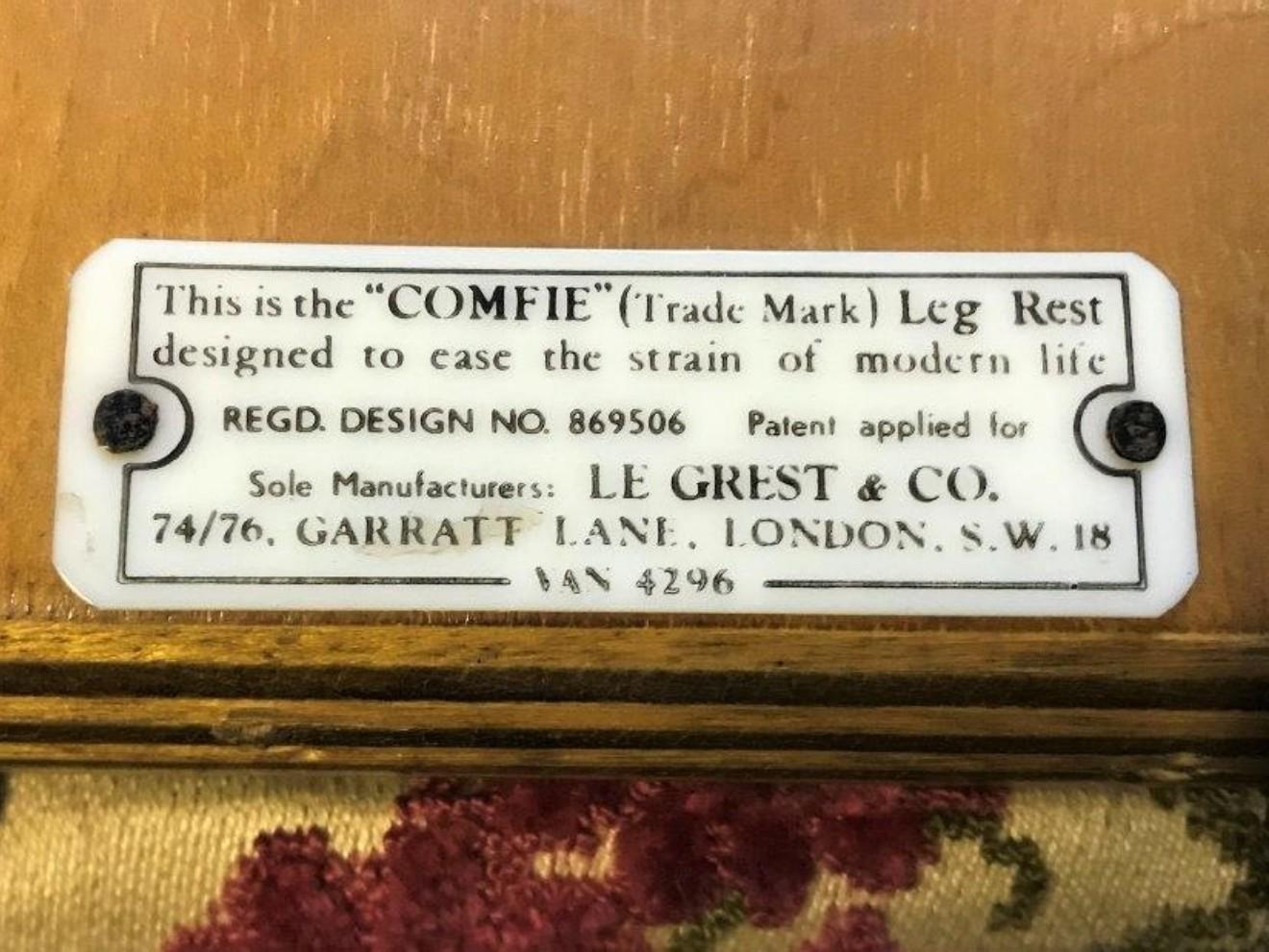"""Comfie"" Leg Rest Stool"