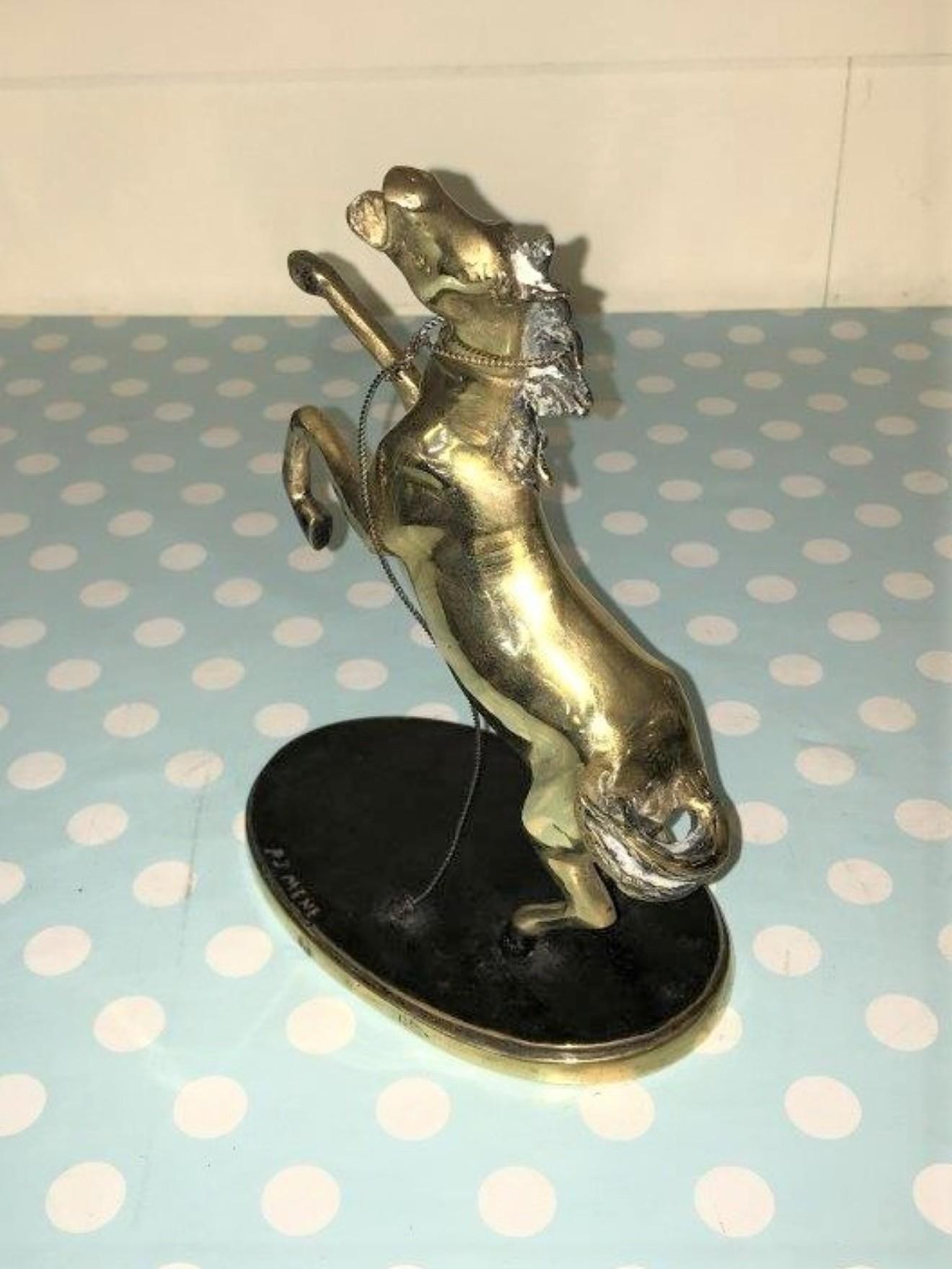 Brass Prancing Horse