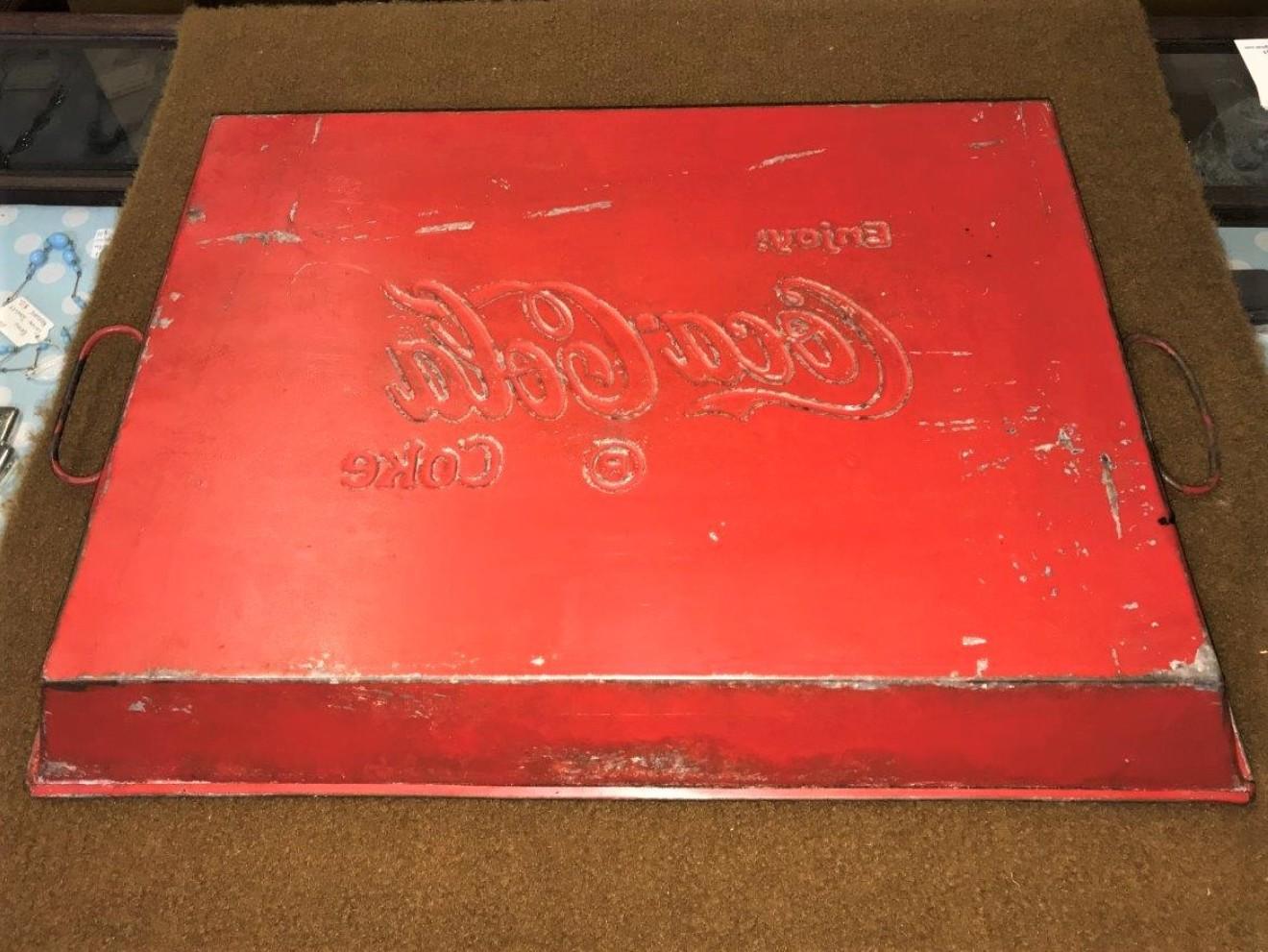 Vintage Enjoy Coca Cola Tray