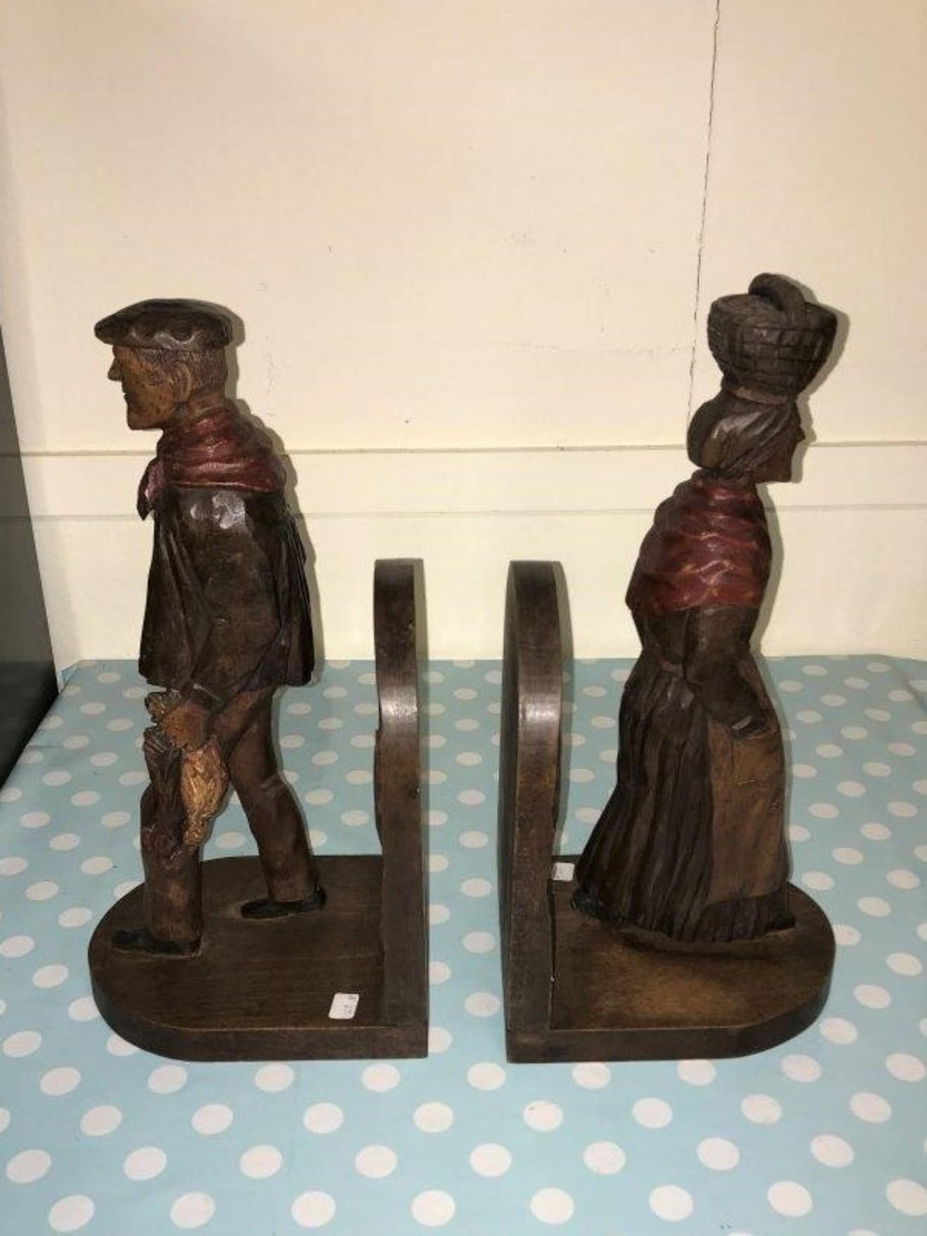 Pair of Carvings