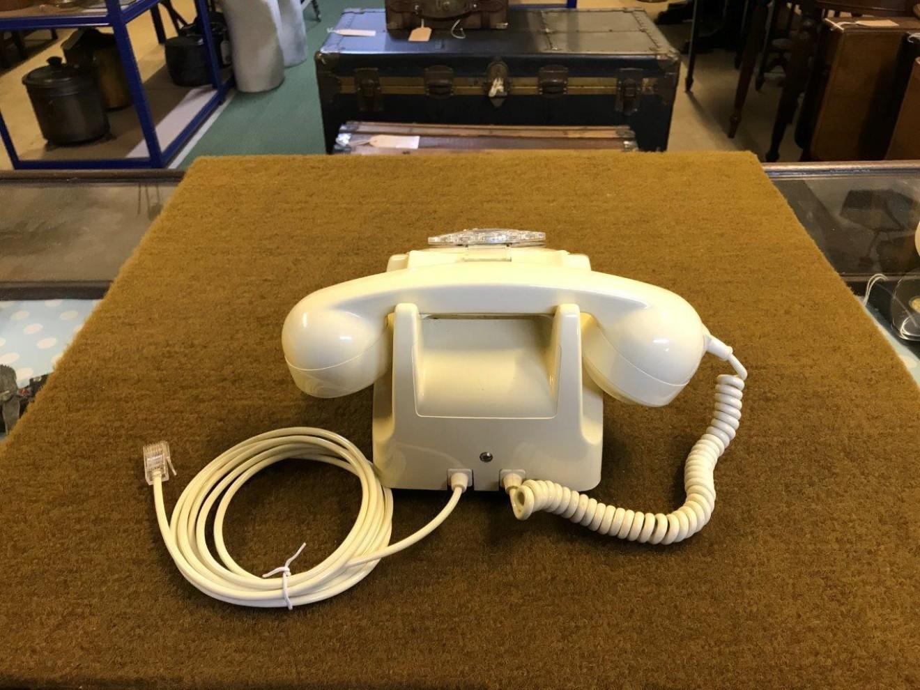 GPO Model 746 F Telephone Ivory