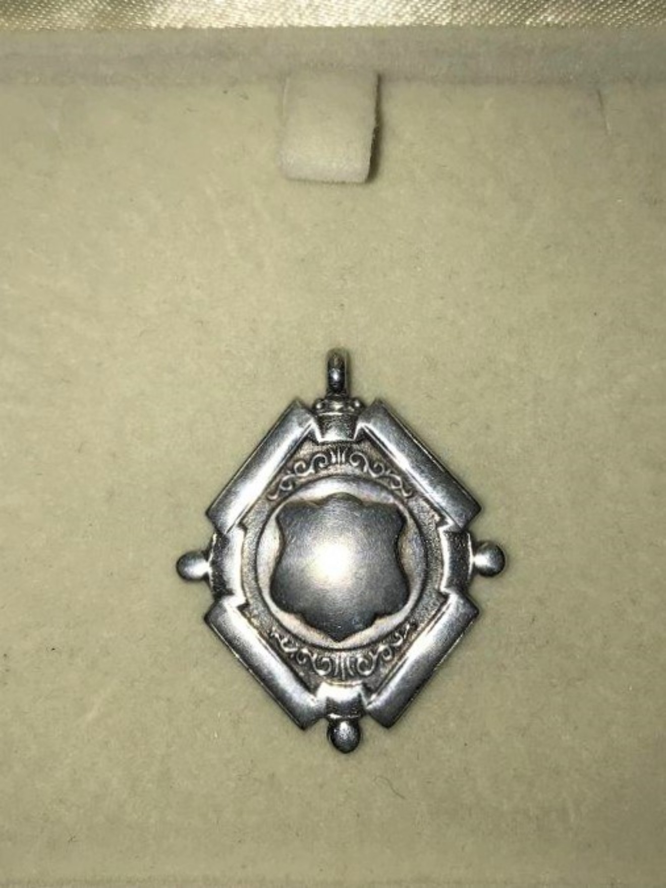 Sterling Silver Watch Fob