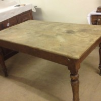 Rustic Pine Country Farmhouse Table