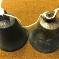 Set of 5 Graduated Country House Service Bells