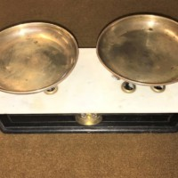 Marble Topped Bakers Scales
