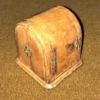Leather Cased Travel Clock