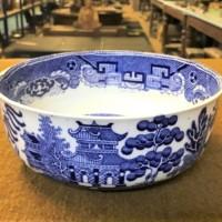 Blue / White Willow Pattern Bowl