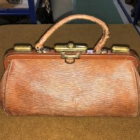 Small Doctor's / Midwives Gladstone Bag