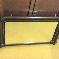 Victorian Lacquered Overmantle Mirror