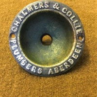 Brass Chalmers and Collie Overflow Drain