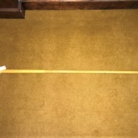 Walking Stick Horn Handle and Tip