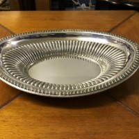 Silver Plate Fruit Dish
