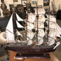 Model Ship Fully Rigged