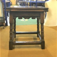 Late 19th Century Oak Metamorphic Stool / Table