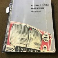 Rover 3 Litre Workshop Manual
