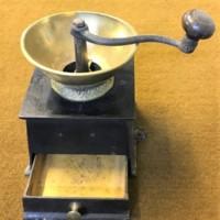 Coffee Grinder Cast Iron & Brass
