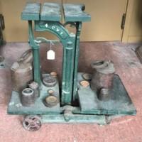 4 Cwt Potato Scales Lowe Maker Glasgow
