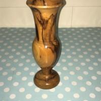 Wooden Carved Vase