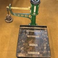 Vintage Platform Scales