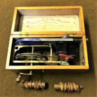 Antique Magneto - Electric Machine For Nervous and other Diseases