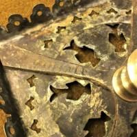 Victorian Brass Trivet / Pot Stand