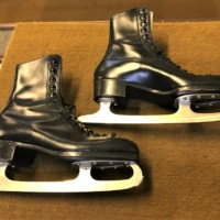 Pair Vintage Ice Skates