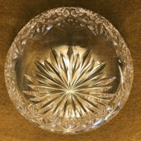 Royal Doulton Cut Glass Crystal Bowl