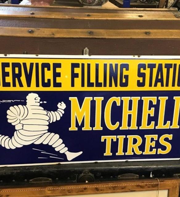 Vintage Michelin Tires Sign