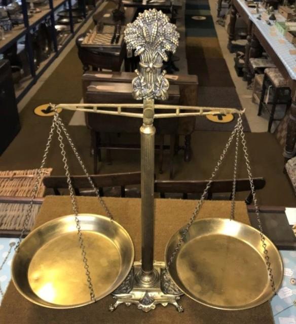 Brass Balance Scales