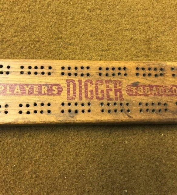 Cribbage Board Players Digger Tobaccos