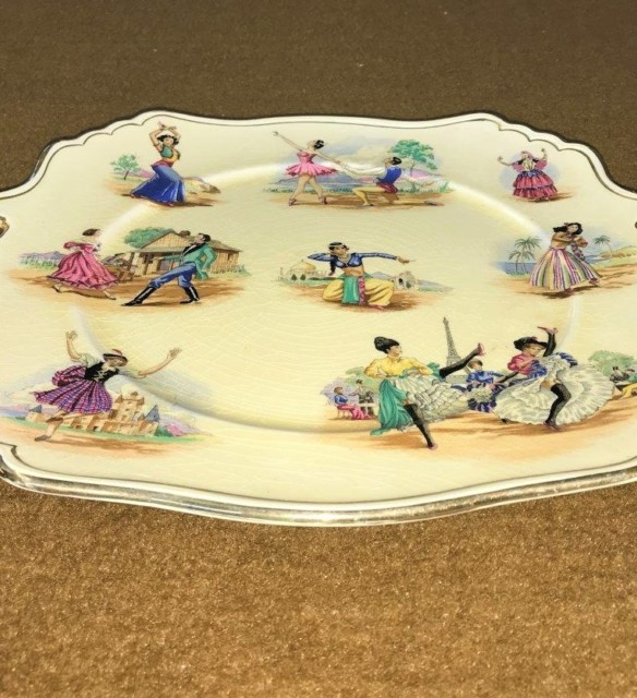 Cabinet Plate National Dances