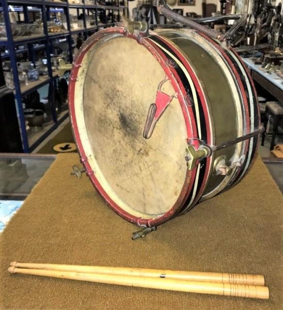 Antique Military Snare Drum