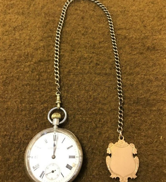 American Waltham USA Traveler Pocket Watch