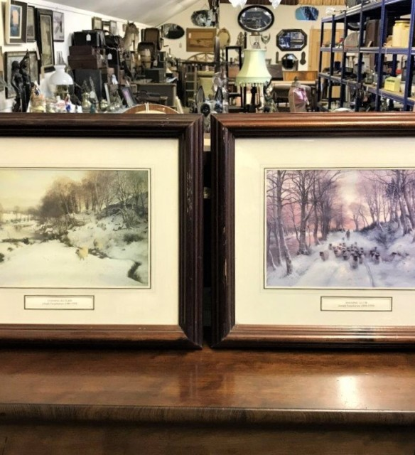Pair of Joseph Farquharson Prints