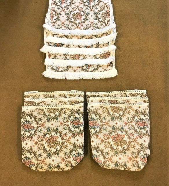 Vintage 3 Piece Suite Antimacassar Set