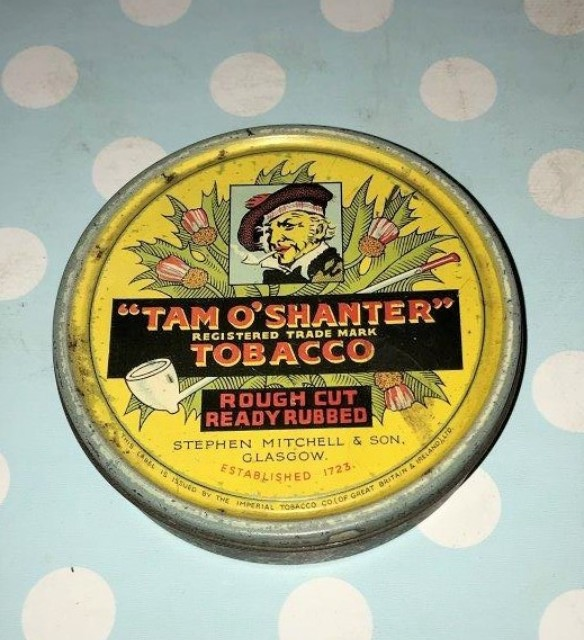 Tam O Shanter Tobacco Tin