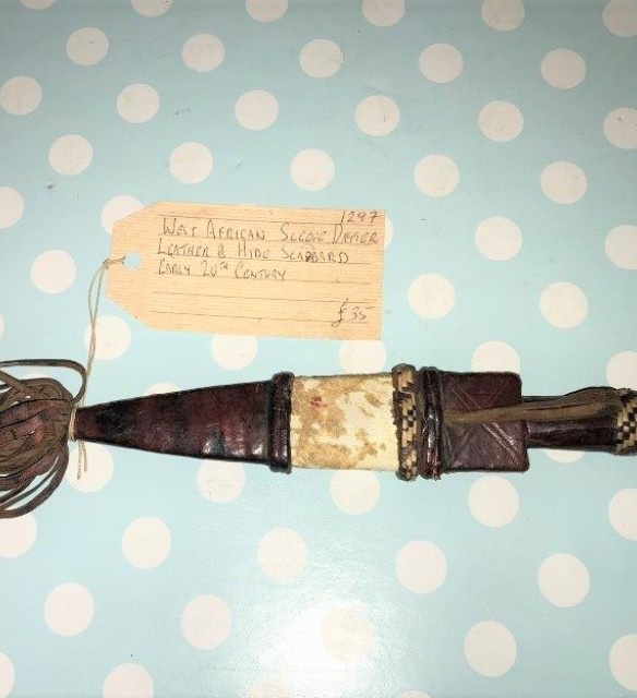 West African Sleeve Dagger